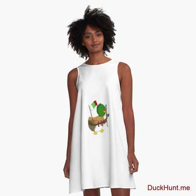 Kamikaze Duck A-Line Dress image