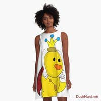 Royal Duck A-Line Dress