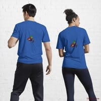Dead DuckHunt Boss (smokeless) Royal Blue Active T-Shirt (Back printed)