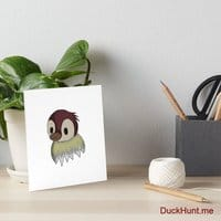 Ghost Duck (fogless) Art Board Print