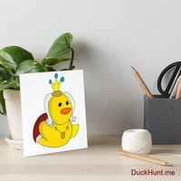 Royal Duck Art Board Print