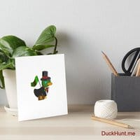 Golden Duck Art Board Print