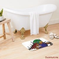 Dead Boss Duck (smoky) Bath Mat