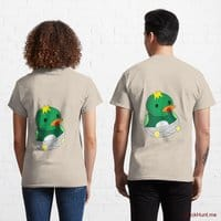 Baby duck Creme Classic T-Shirt (Back printed)