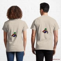 Dead DuckHunt Boss (smokeless) Creme Classic T-Shirt (Back printed)