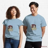Ghost Duck (fogless) Light Blue Classic T-Shirt (Front printed)