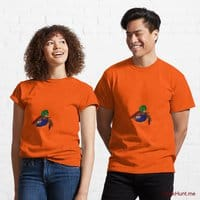 Dead DuckHunt Boss (smokeless) Orange Classic T-Shirt (Front printed)