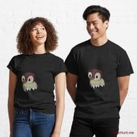 Ghost Duck (fogless) Black Classic T-Shirt (Front printed)