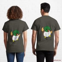 Super duck Army Classic T-Shirt (Back printed)