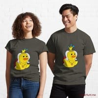 Royal Duck Army Classic T-Shirt (Front printed)