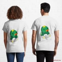 Baby duck White Classic T-Shirt (Back printed)