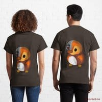 Mechanical Duck Brown Classic T-Shirt (Back printed)