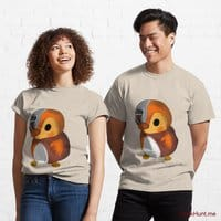 Mechanical Duck Creme Classic T-Shirt (Front printed)