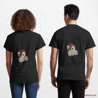 Ghost Duck (fogless) Black Classic T-Shirt (Back printed)