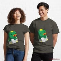 Baby duck Army Classic T-Shirt (Front printed)