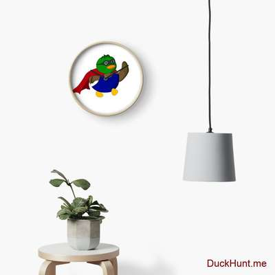 Alive Boss Duck Clock image