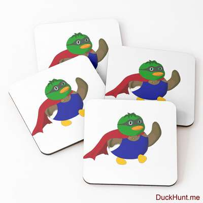 Alive Boss Duck Coasters (Set of 4) image