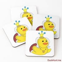 Royal Duck Coasters (Set of 4)