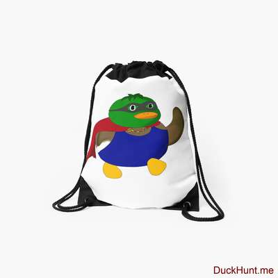 Alive Boss Duck Drawstring Bag image