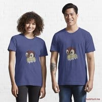 Ghost Duck (fogless) Blue Essential T-Shirt (Front printed)