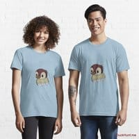 Ghost Duck (fogless) Light Blue Essential T-Shirt (Front printed)