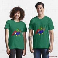 Alive Boss Duck Green Essential T-Shirt (Front printed)