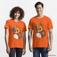 Mechanical Duck Orange Essential T-Shirt (Front printed)