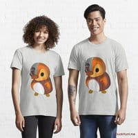 Mechanical Duck Light Grey Essential T-Shirt (Front printed)