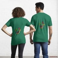 Golden Duck Green Essential T-Shirt (Back printed)