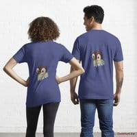 Ghost Duck (fogless) Blue Essential T-Shirt (Back printed)