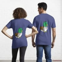 Normal Duck Blue Essential T-Shirt (Back printed)