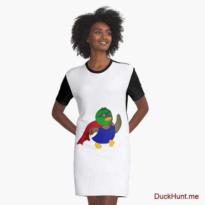 Alive Boss Duck Graphic T-Shirt Dress image