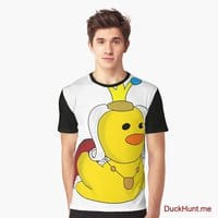Royal Duck Black Graphic T-Shirt