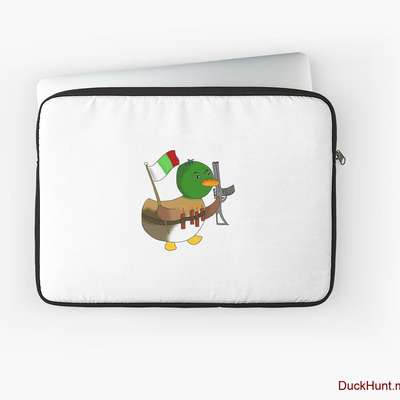 Kamikaze Duck Laptop Sleeve image