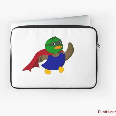 Alive Boss Duck Laptop Sleeve image
