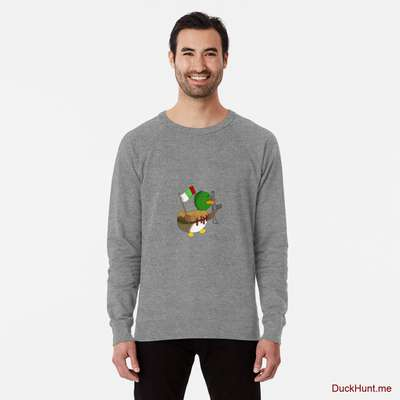 Kamikaze Duck Grey Lightweight Sweatshirt image