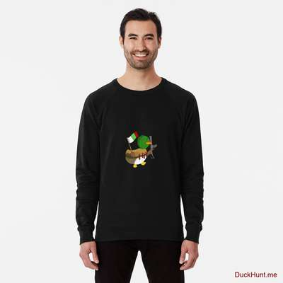 Kamikaze Duck Black Lightweight Sweatshirt image