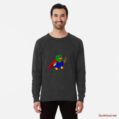 Alive Boss Duck Charcoal Lightweight Sweatshirt image