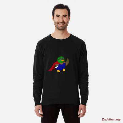 Alive Boss Duck Black Lightweight Sweatshirt image
