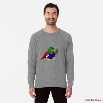Alive Boss Duck Grey Lightweight Sweatshirt image