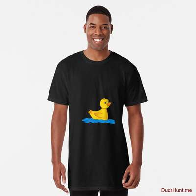 Plastic Duck Black Long T-Shirt (Front printed) image
