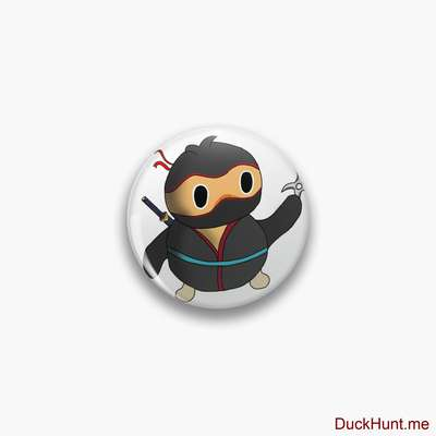 Ninja duck Pin image
