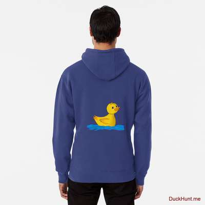 Plastic Duck Blue Pullover Hoodie (Back printed) image