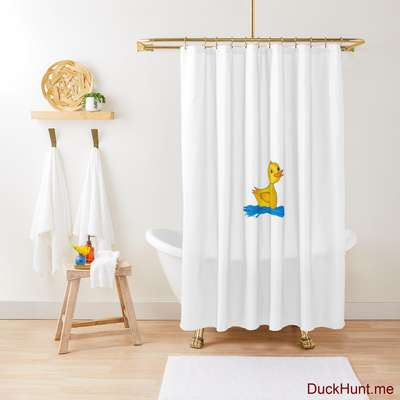Plastic Duck Shower Curtain image