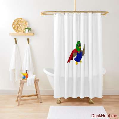 Alive Boss Duck Shower Curtain image