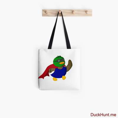Alive Boss Duck Tote Bag image