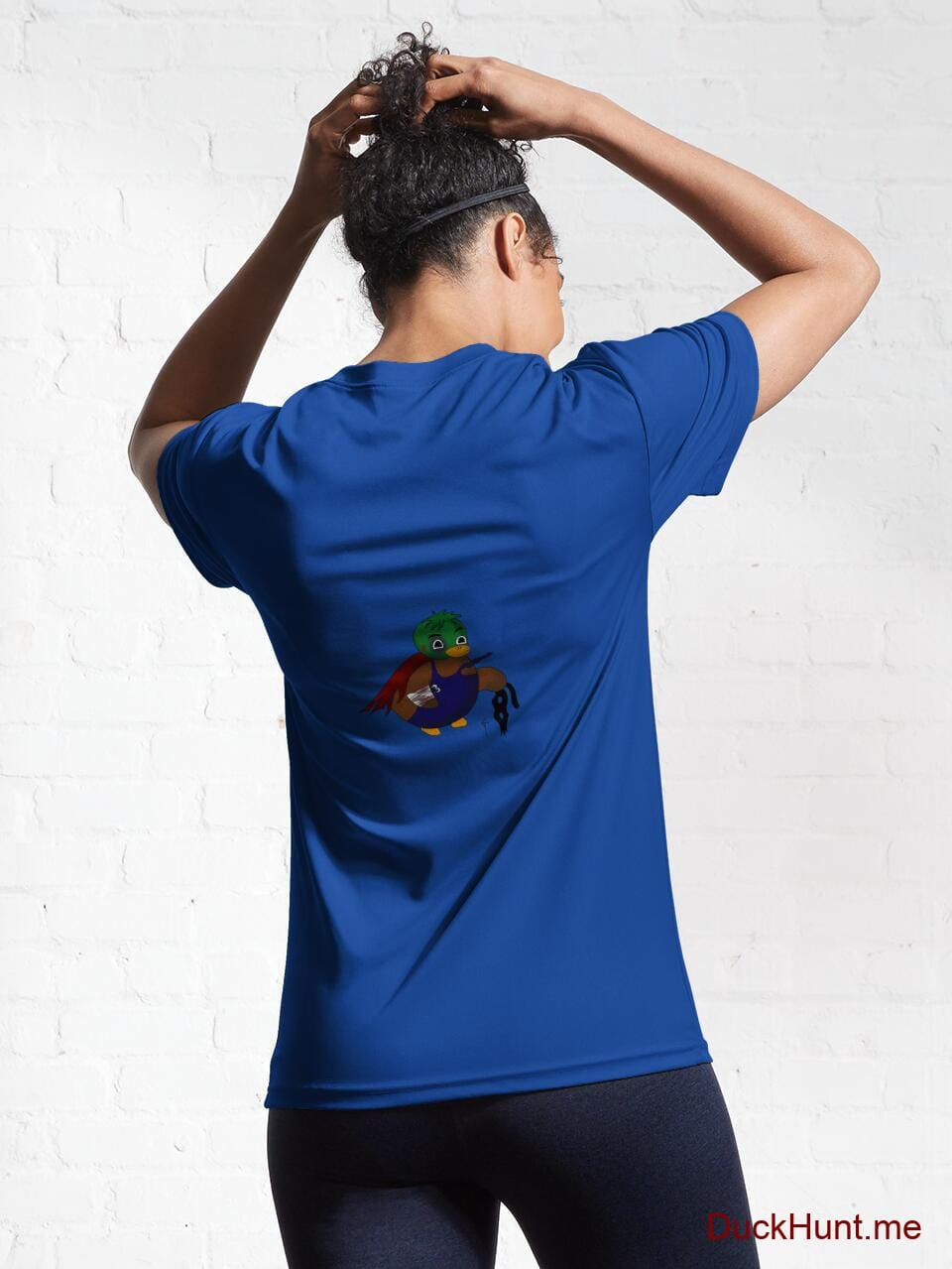 Dead DuckHunt Boss (smokeless) Royal Blue Active T-Shirt (Back printed) alternative image 5