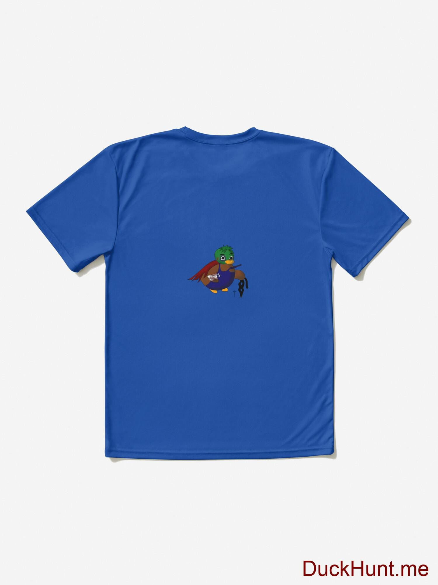 Dead DuckHunt Boss (smokeless) Royal Blue Active T-Shirt (Back printed) alternative image 1