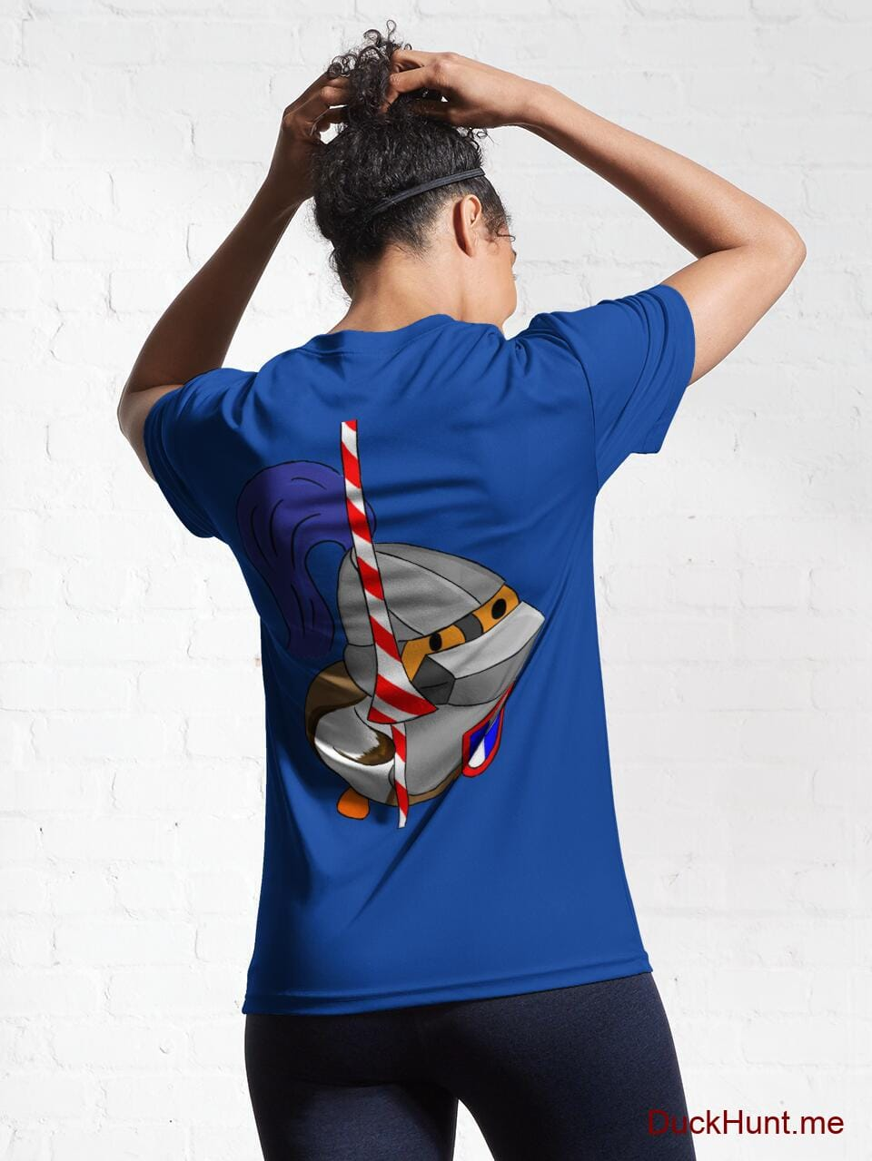 Armored Duck Royal Blue Active T-Shirt (Back printed) alternative image 5