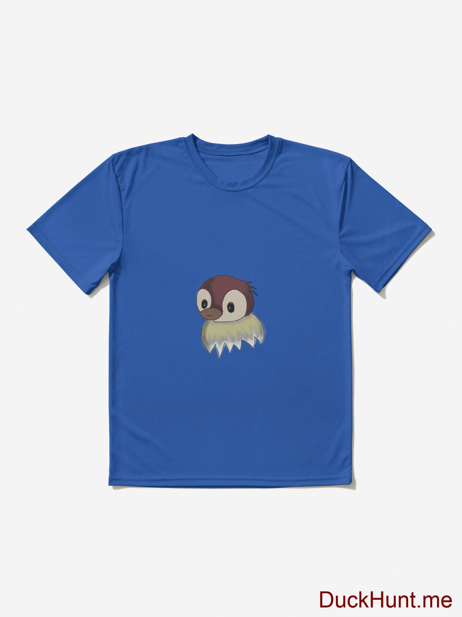 Ghost Duck (fogless) Royal Blue Active T-Shirt (Front printed) alternative image 2